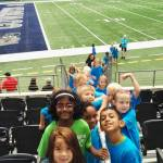 Ida at the Dallas Cowboys Stadium