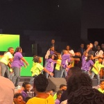 Ida performing at the Potters House